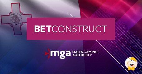 马耳他博彩管理局将实时娱乐场供应商许可证发放给BetConstruct
