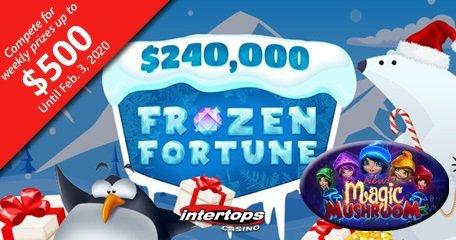 Intertops Casino启动$ 240,000冷冻财富圣诞节竞赛