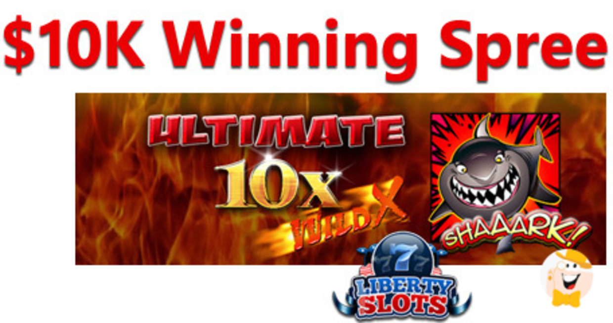 Liberty Slots Player Earns 10 000 Prize