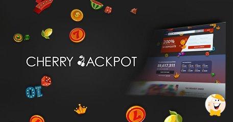 Cherry Jackpot Casino Launches New Website