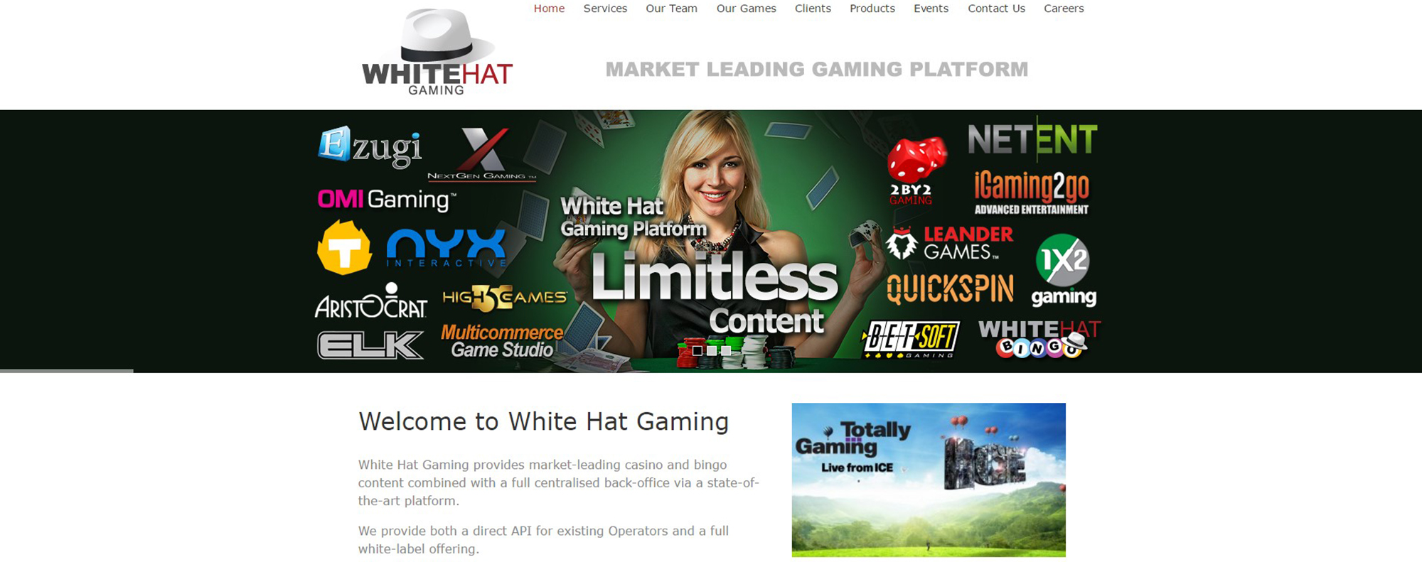 White Hat Gaming » Company Review + Casino List 2019