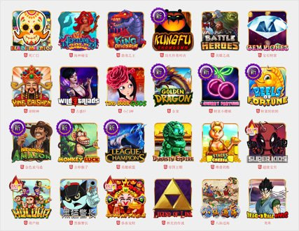 Top Trend Gaming Slot Games - Find Them All Here!