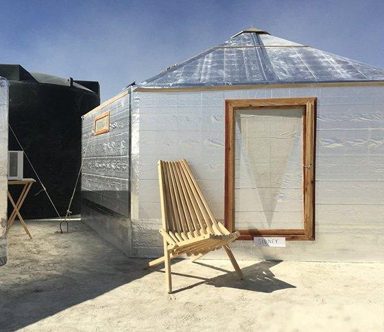 Yurt Burning man